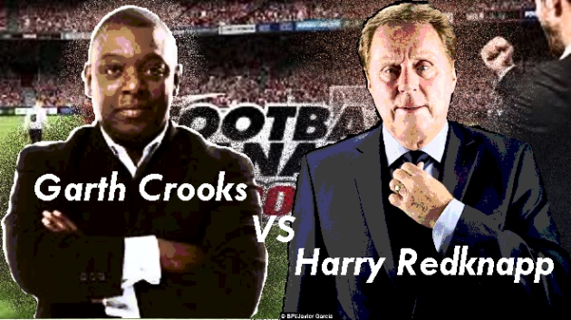 football manager Crooks vs Redknapp